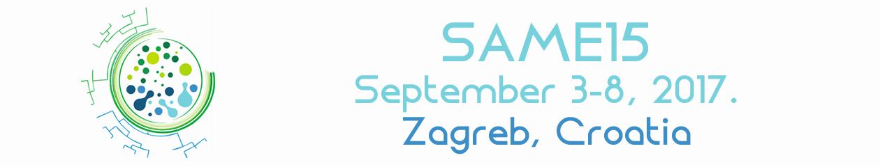 SAME15 – 15th Symposium on Aquatic Microbial Ecology